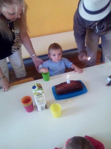 Un anniversaire de 2 ans