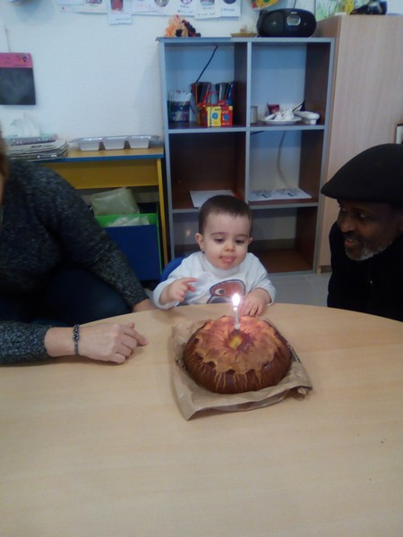 Un anniversaire de 1 an