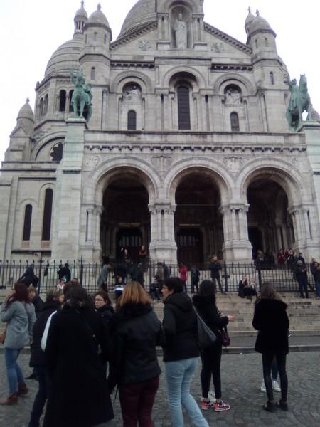 Petite visite de Montmartre et de sa basilique avant de repartir...