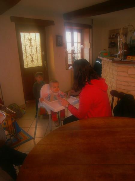 Myriam en immersion sur Semur chez Véronique