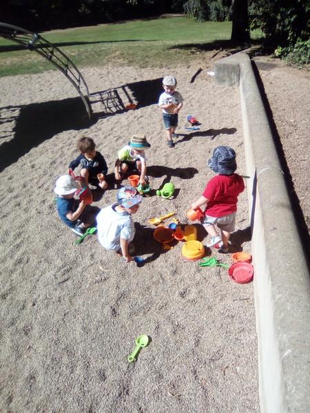Jeux au parc de Marcigny
