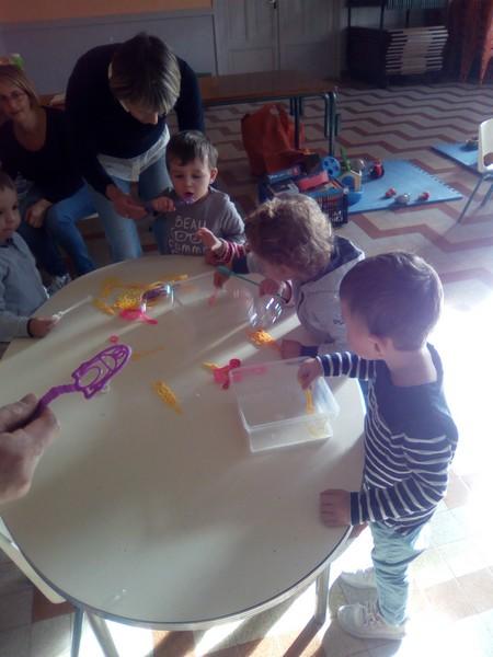 Atelier bulles de savon
