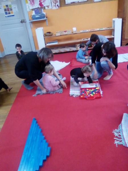 Atelier Montessori avec Ambre GAUTHIER