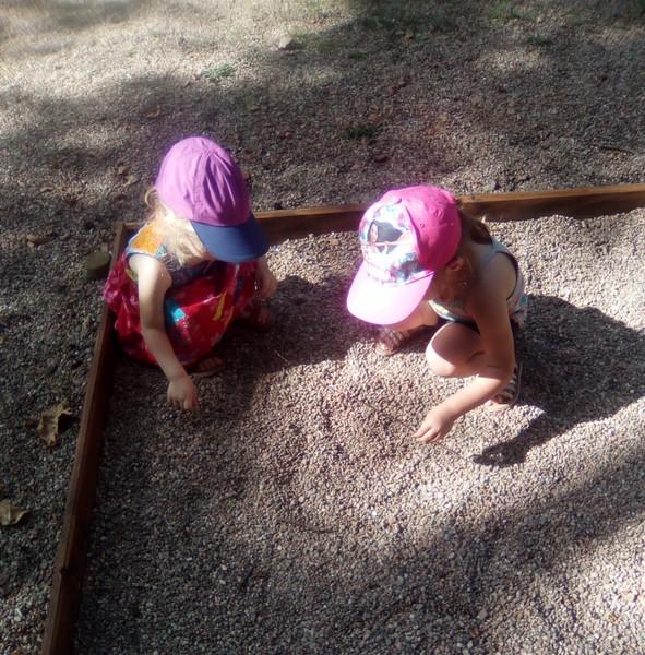 On joue au parc