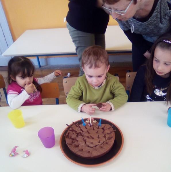 un anniversaire :  3 ans