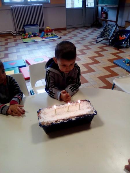 Un anniversaire de 3 ans
