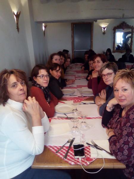 repas pris à Montmartre...