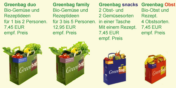 Greenbag bei natur pur