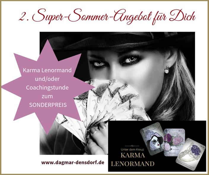 Super-Sommer-Angebot Karma Lenormand