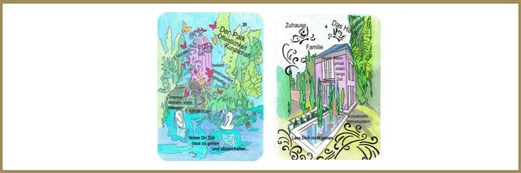Park und Hauskarte Lenormand