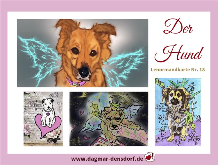 lenormandtageskarte-hund