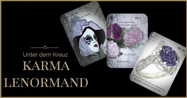 Karmaauflösung Liebe mit dem Karma Lenormand