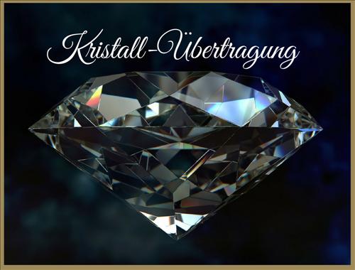 Karmaauflösung mit Kristall-Übertragung