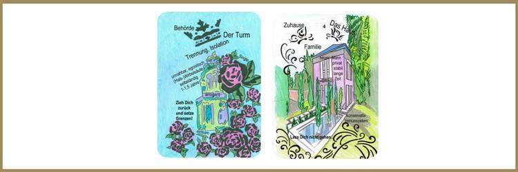 Turm und Hauskarte Lenormand
