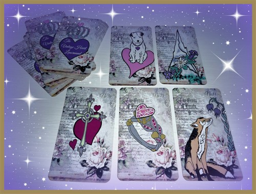 Lenormandkarten Liebe The Vintage Heart Lenormand