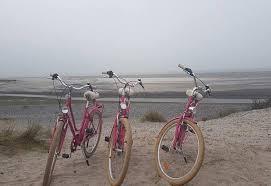 au départ  de notre chambres d'hôtes Villa ST VAL les pistes cyclables autour de la Baie
