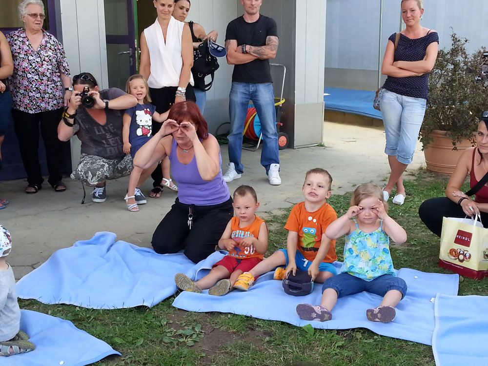 Kindergarten Ausflug mit Spielstunden