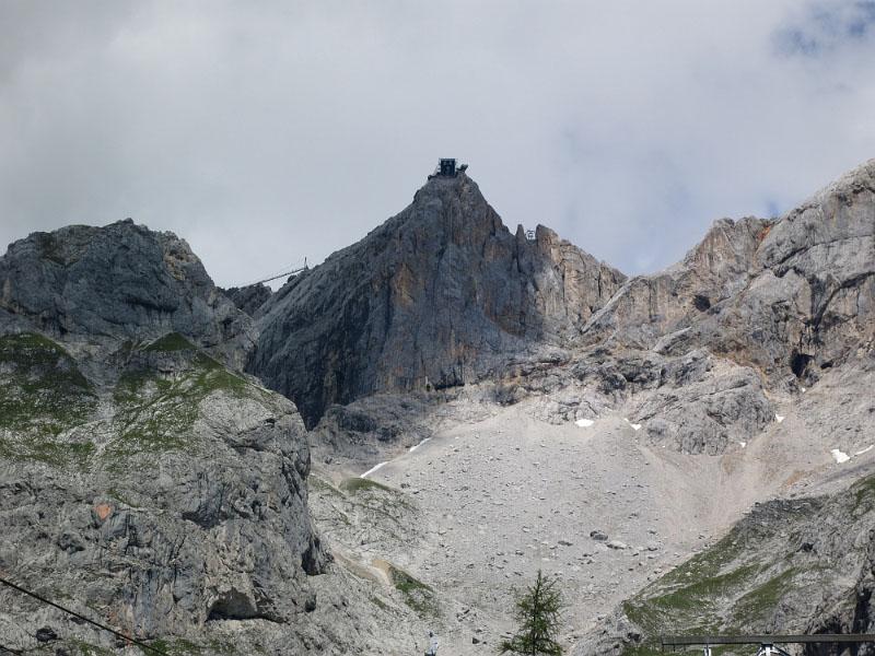Blick auf Gletscher Dachstein