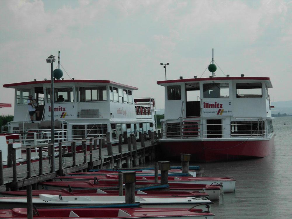 Schifffahrt am Neusiedler See