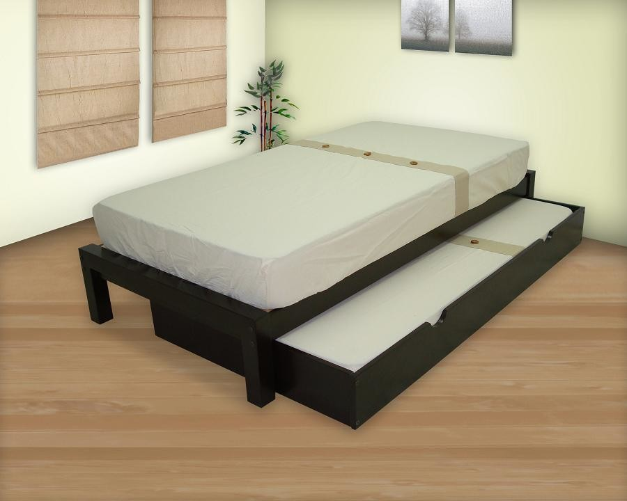 Bases dobles muebles gm muebles de madera for Base de cama matrimonial con tarimas