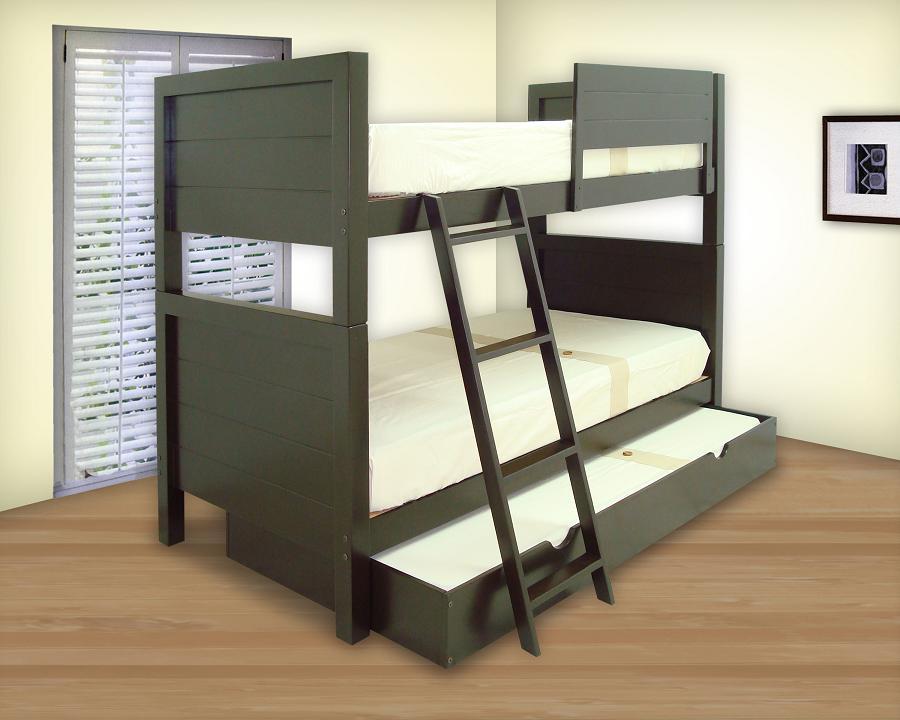Literas triples muebles gm muebles de madera - Literas precios modelos ...
