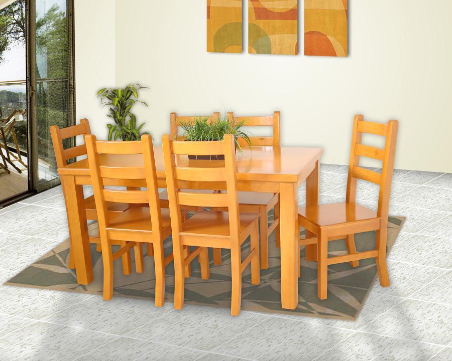 Antecomedores muebles gm muebles de madera for Sillas para antecomedor