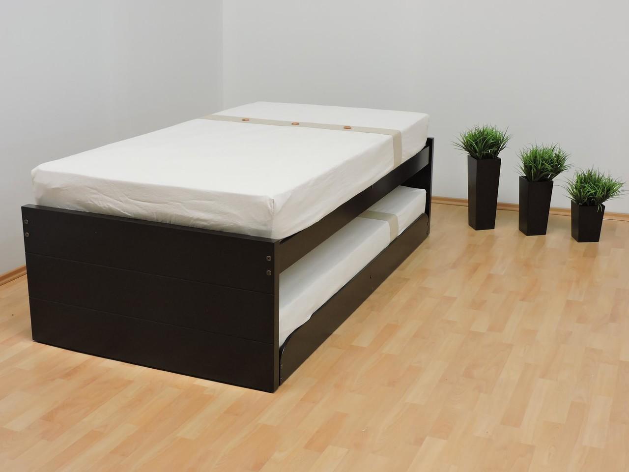 Bases dobles muebles gm muebles de madera for Cama individual que se hace doble