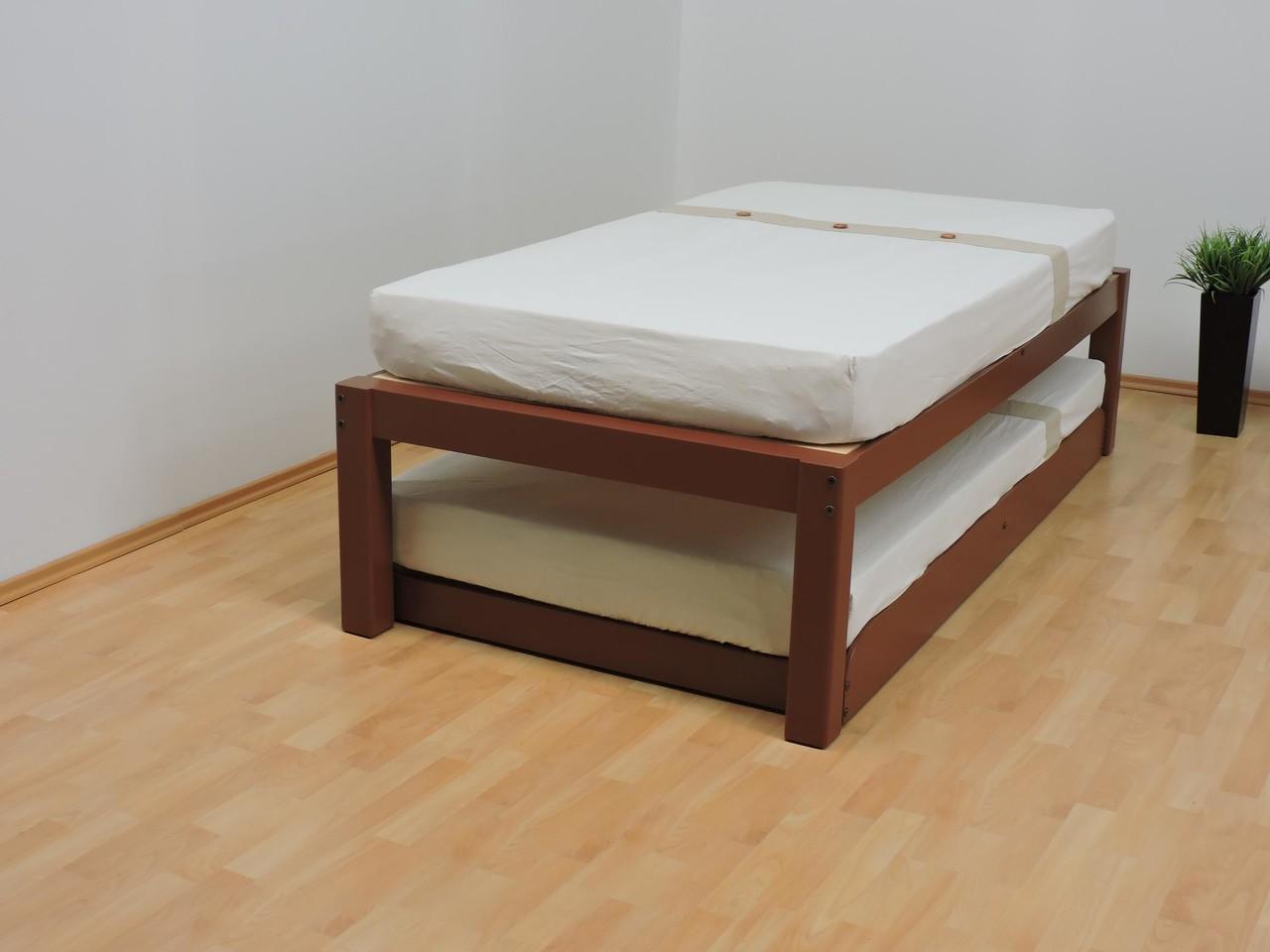 Bases dobles muebles gm muebles de madera for Como hacer una base de cama