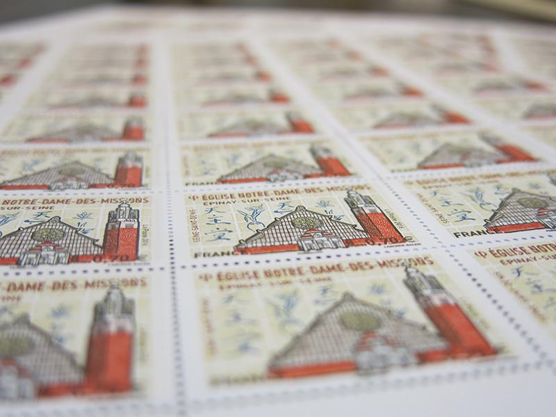 Planches du timbre