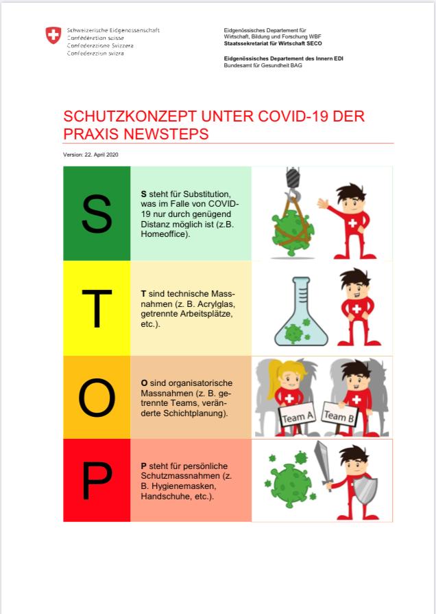 newSTEPs - Gesundheit, Konzentration, Leistungsfähigkeit