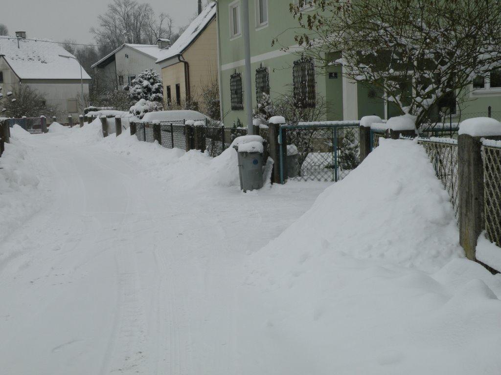 Winterstimmung in Vogelsangringsiedlung