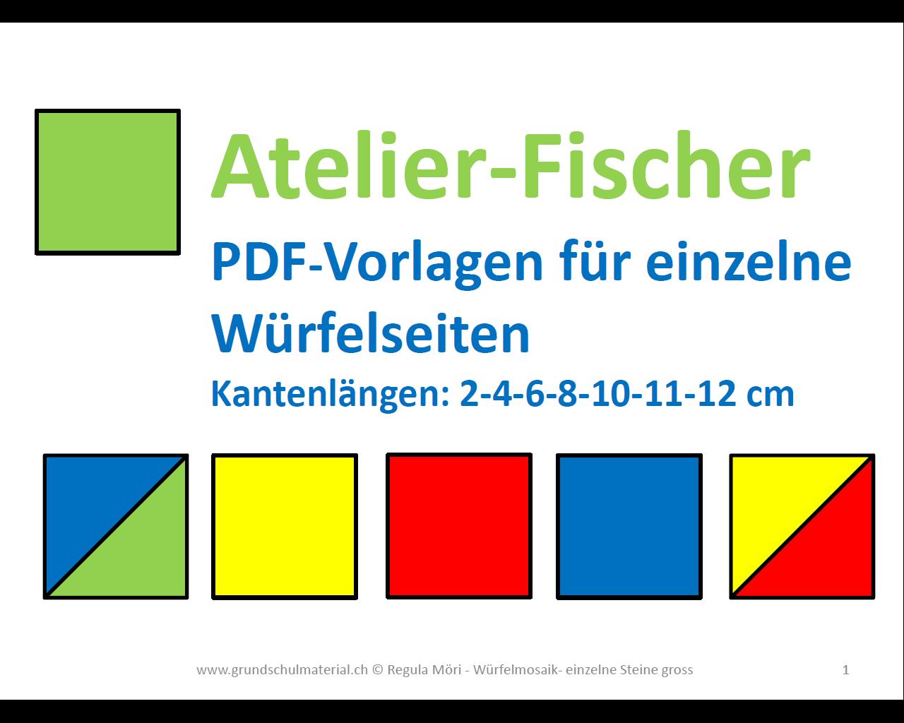Ziemlich Große Würfel Vorlage Bilder - Beispiel Wiederaufnahme ...