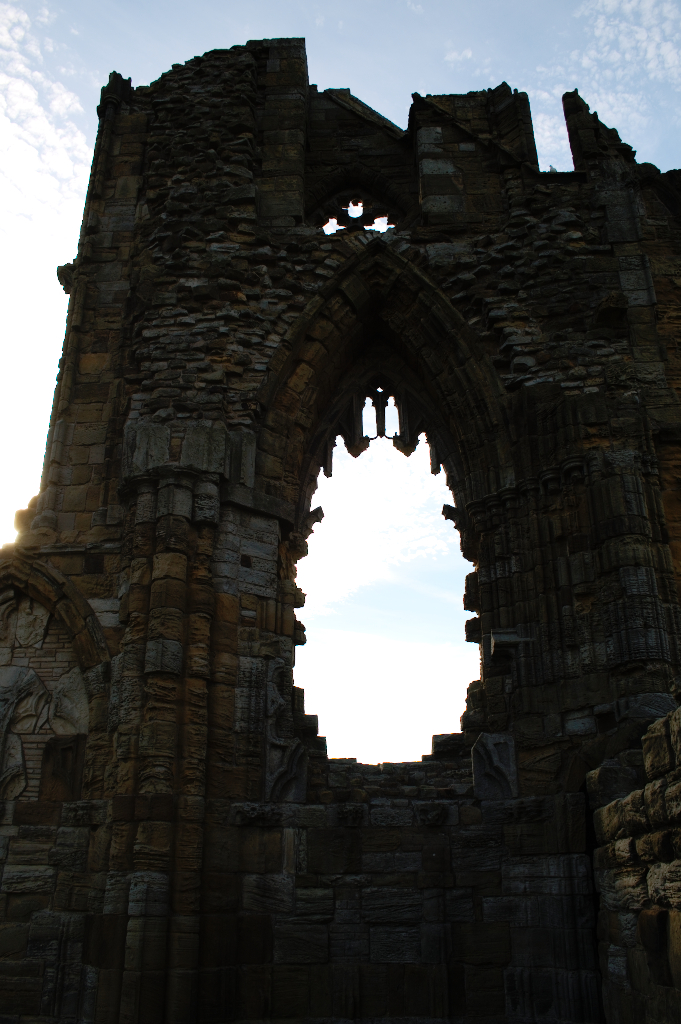 (M)ein Tag am Meer - Whitby Abbey Fenster - Zebraspider DIY Blog