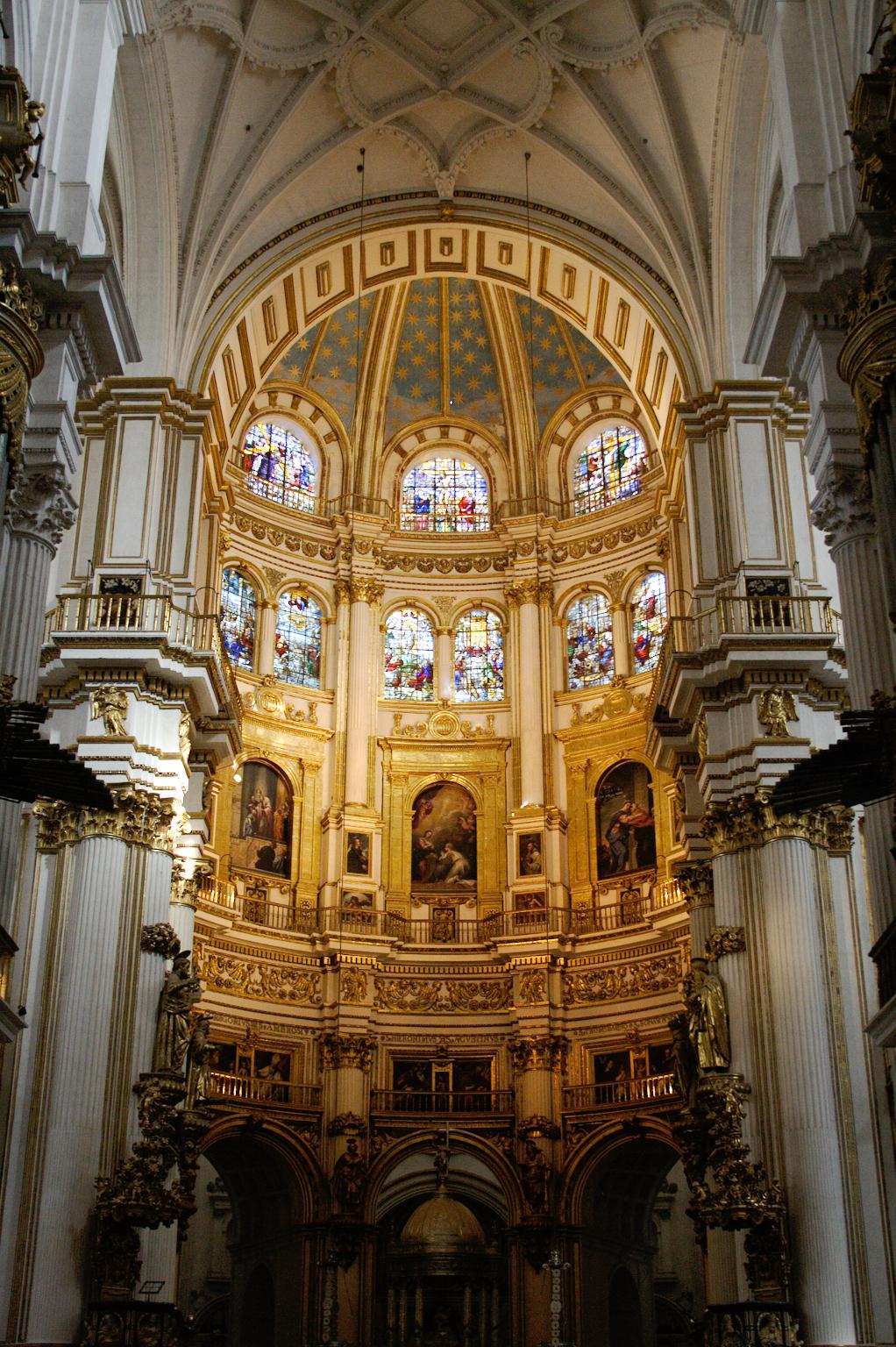 Ein Tag in Granada - Kathedrale Santa María de la Encarnación Chor - Zebraspider DIY Anti-Fashion Blog