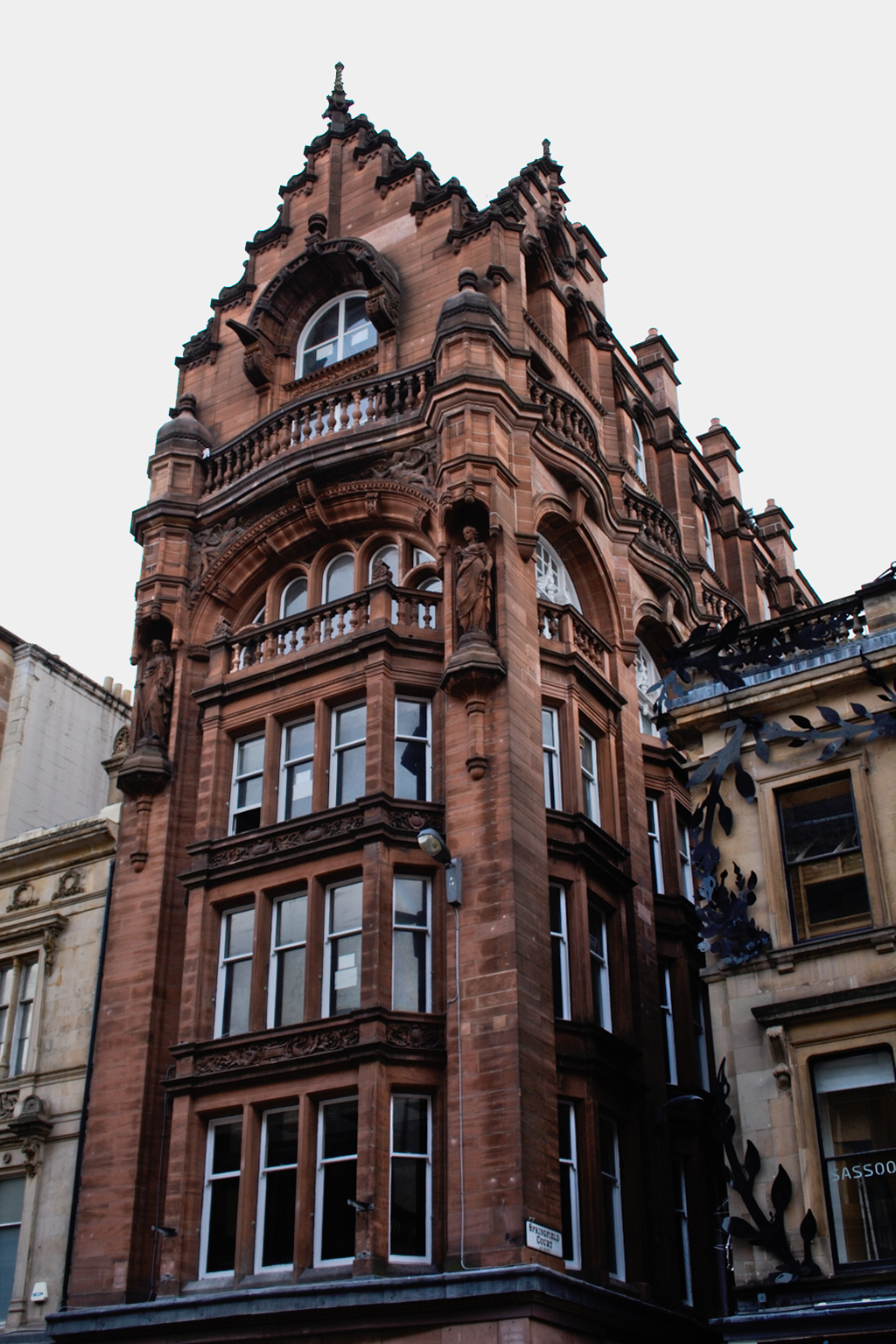 Ein paar Stunden in Glasgow - historische Gebäude - Zebraspider DIY Anti-Fashion Blog