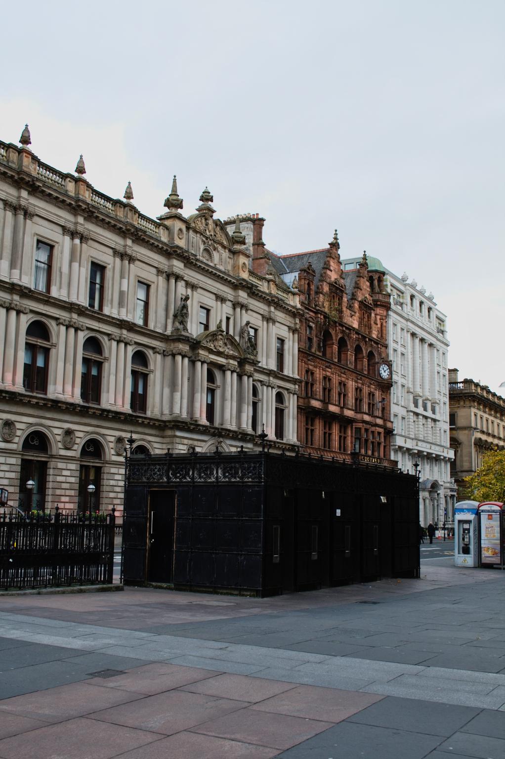 Ein paar Stunden in Glasgow - Innenstadt - Zebraspider DIY Anti-Fashion Blog