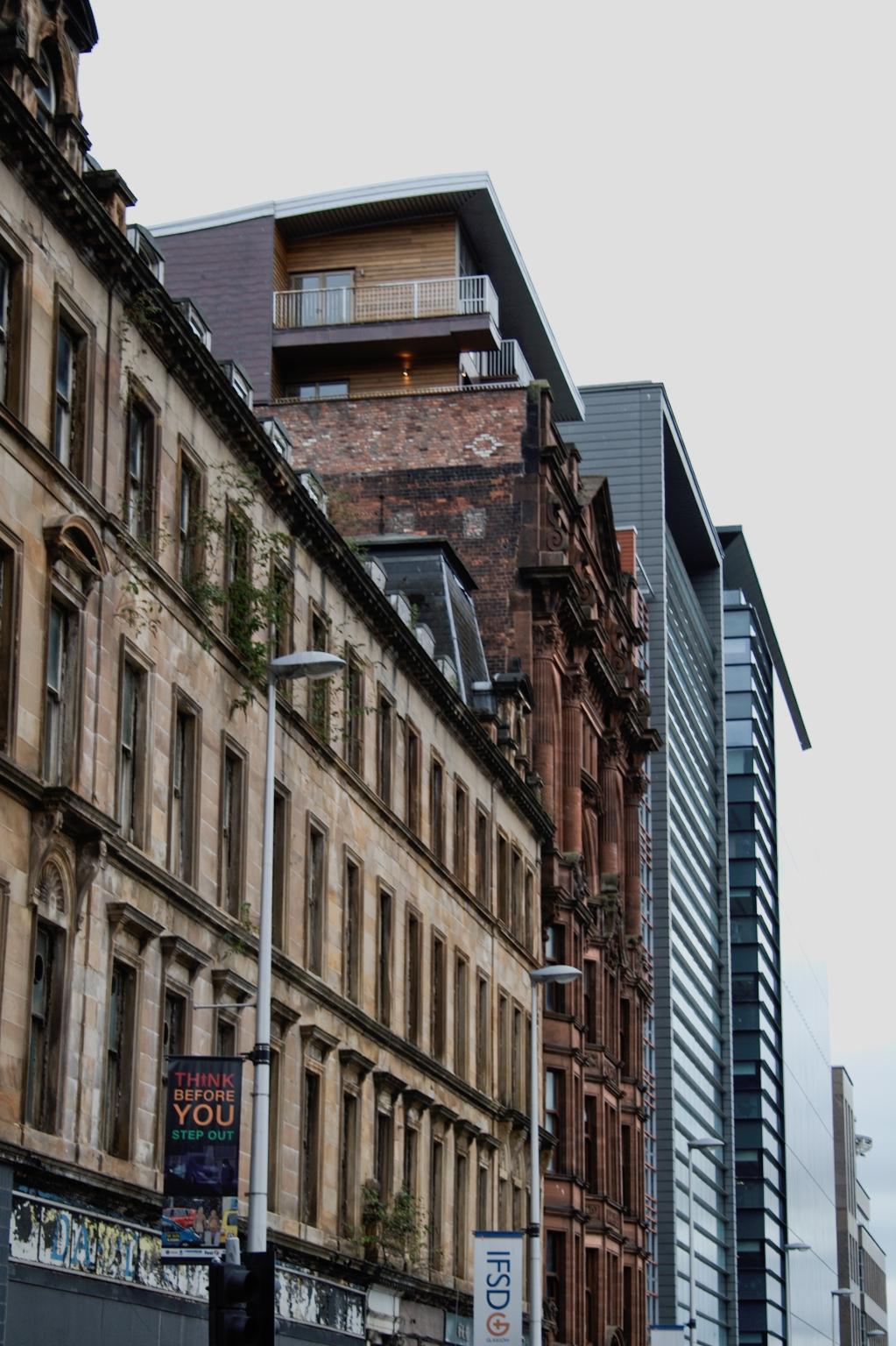 Ein paar Stunden in Glasgow - historisch und modern übereinander - Zebraspider DIY Anti-Fashion Blog