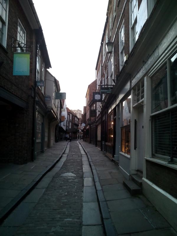 Etsy-Shop und Leben in York - Shambles - Zebraspider DIY Blog