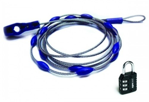 PacSafe WrapSafe adjustable cable system