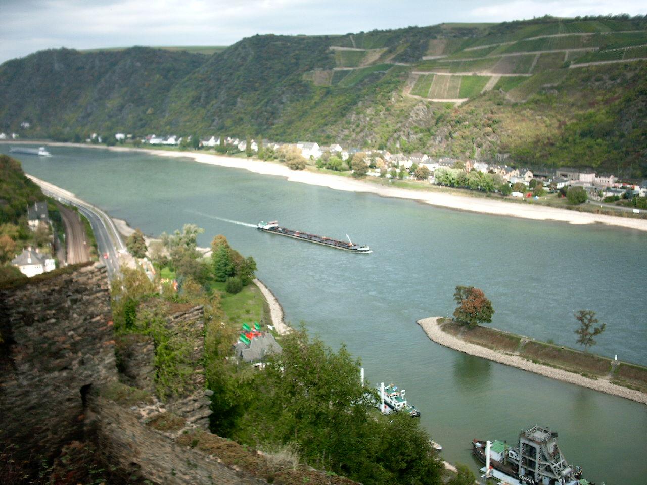 Vereinsfahrt nach Bingen 2004