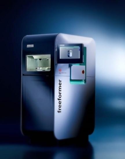 Freeformer technologie (Arburg): 3D printen met kunststofpellets (operationeel zomer 2017)