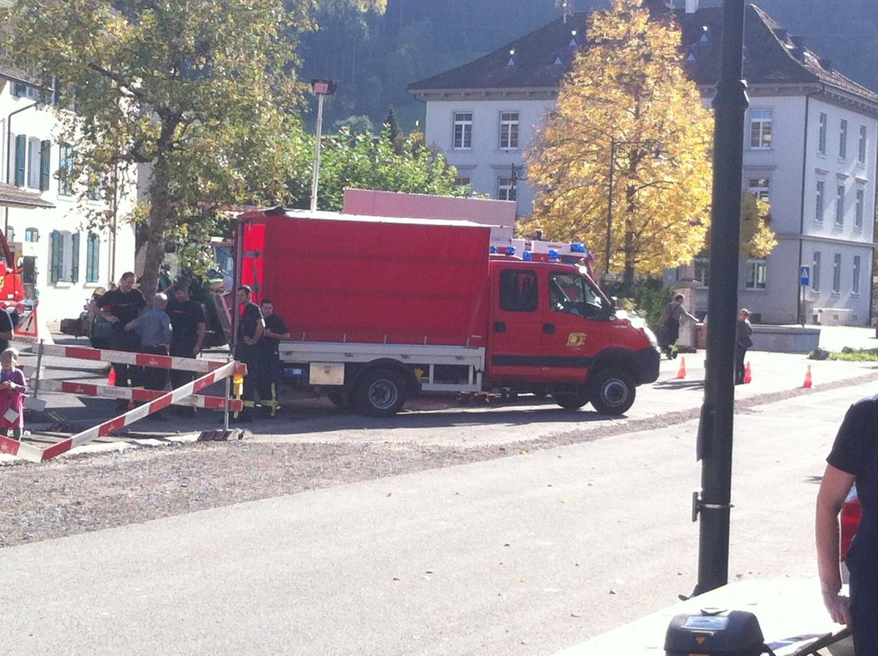 Feuerwehr Hauptübung 2013