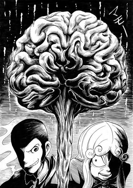ルパンとマモー(2012 ルパン三世 ルパンvs複製人間)