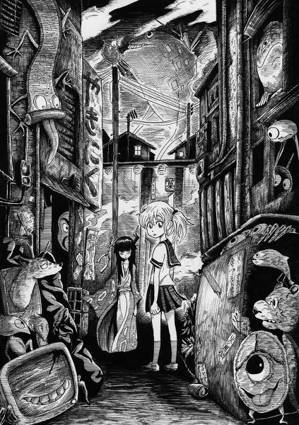 忘却街のそら イメージイラスト(2012)