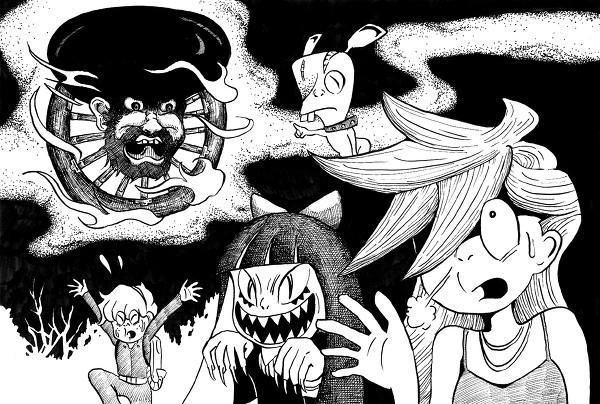 鬼太郎×パンスト(2011 ゲゲゲの鬼太郎 パンティ&ストッキングwithガーターベルト)