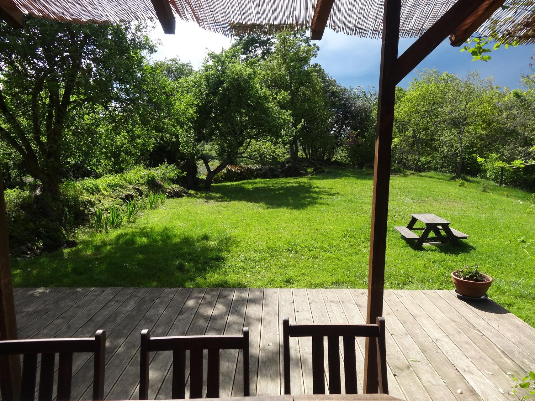Terrasse et jardin privatifs