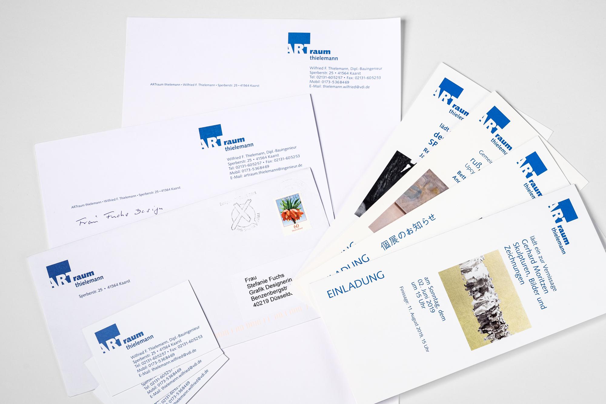 Briefpapier mit Kuverts mit Logo-Aufdruck