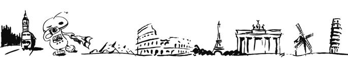 Scribble, Skizze, Strichzeichnung, Comic, Sehenswürdigkeiten, Wahrzeichen