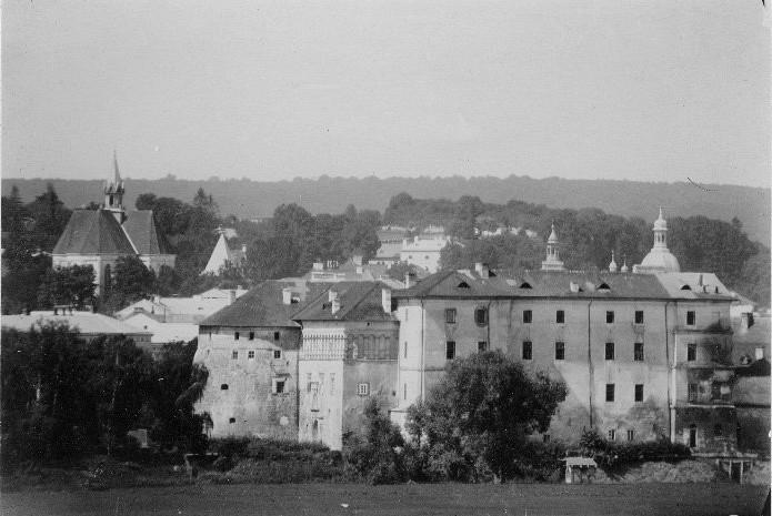 Замок до Першої світової війни.