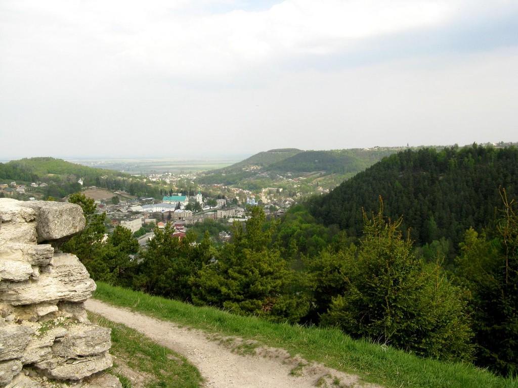 Вид на місто з замкової гори